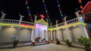 Đài Đức Mẹ và nhà Hài Cốt hiện nay