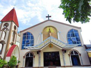 Mặt tiền Nhà thờ năm 2019
